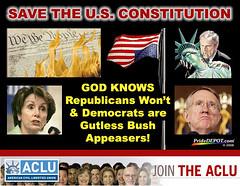 Save the U.S. Constitution   PrideDEPOT.com