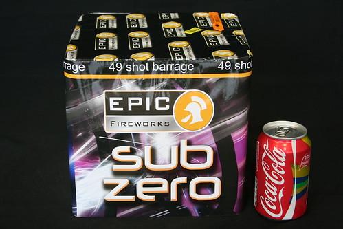 EpicFireworks - Sub Zero Barrage