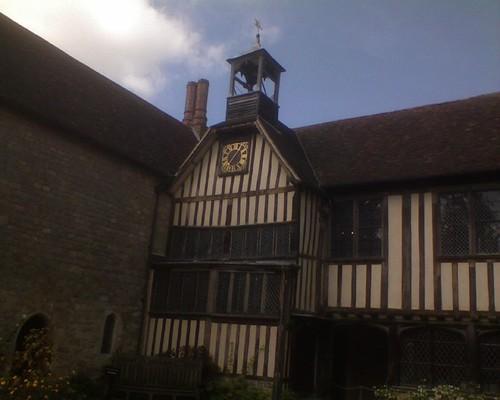 Central courtyard - clock