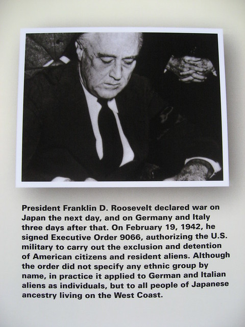 FDR signs Executive Order 9066
