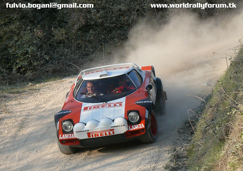 Munari - Sodano Lancia Stratos - Rally Legend 2008