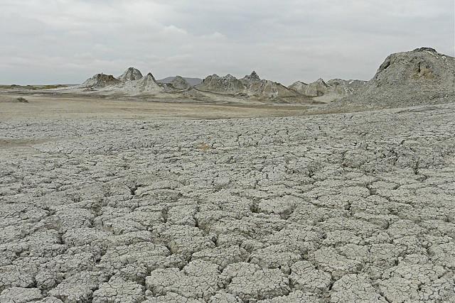 Volcanes de lodo, Azerbaiyán