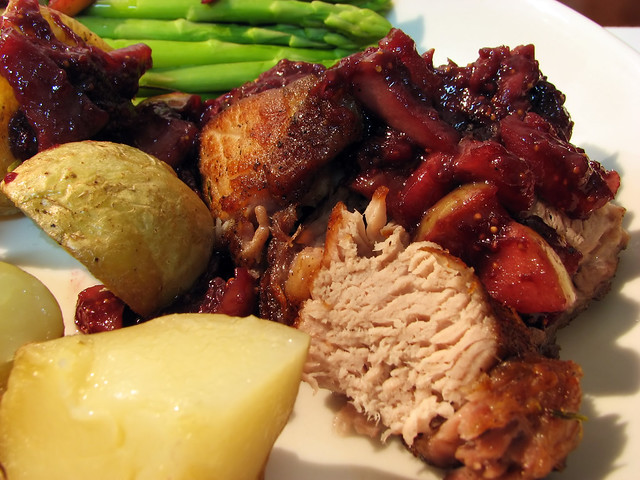 Roast Pork with Apple-Fig Compote | Flickr - Photo Sharing!