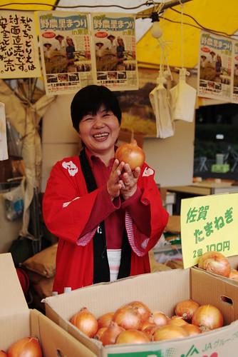 friendly shop owner