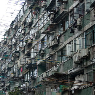 Shanghai Apartment block