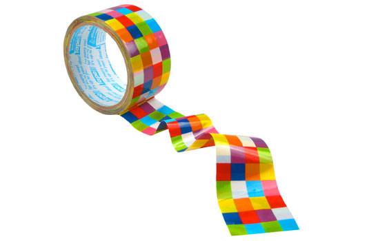 Graphic tape, design: Fred Flare