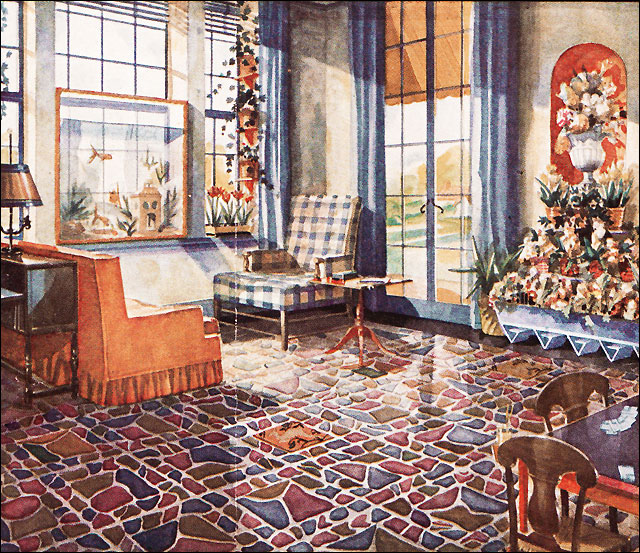 vintage interiors 1930s living room a gallery on flickr