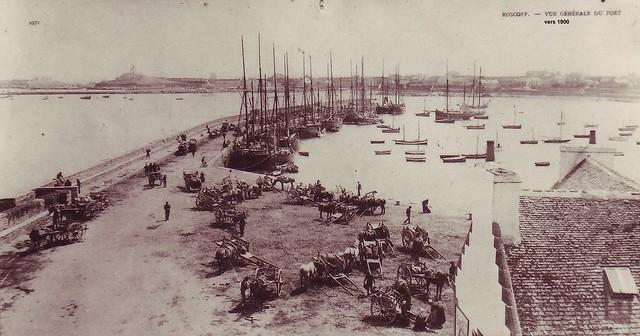 Roscoff - Archives Feutren - Le vieux port