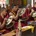 monks making music by Dick Verton