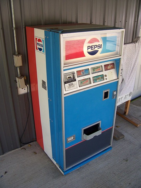 pepsi machine value