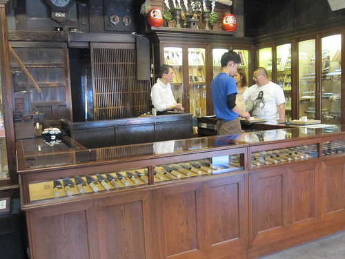 Knife store in Kawagoe