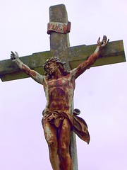 art, religious item, symbol, sculpture, monument, crucifix, cross, statue,