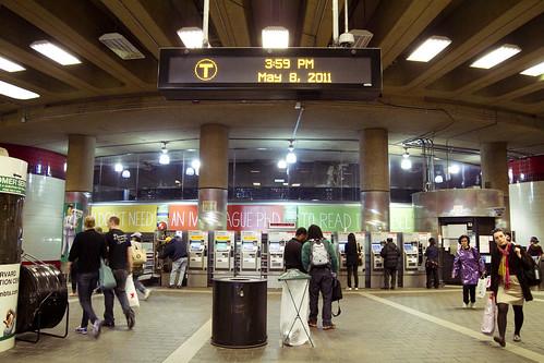 Harvard Square station