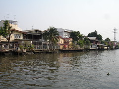 Along a Thonburi Canal