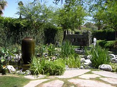 botanical garden, backyard, garden, property, yard, landscaping,