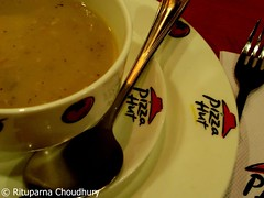 dinner @ pizza hut, pune