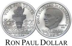 Ron Paul Liberty Dollar 50p