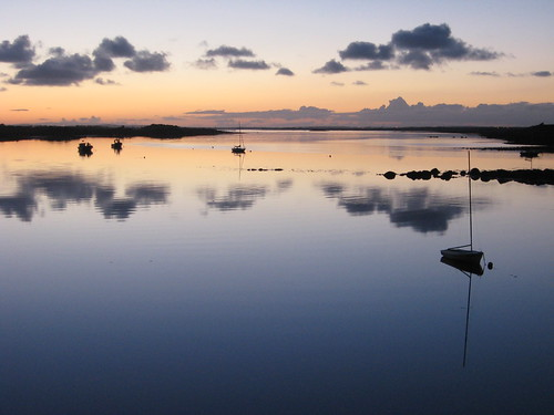 Kinvara Bay at Dusk