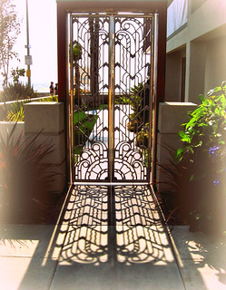 Gate and shadow