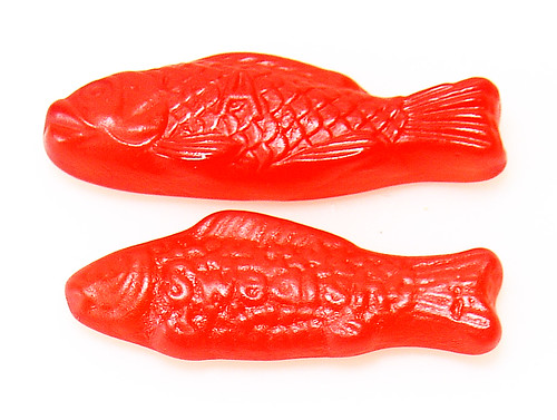 All gummies gourmet fruity fish swedish fish knock off for Does swedish fish have gelatin