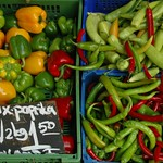 Peppers at Naschmarkt - Vienna, Austria