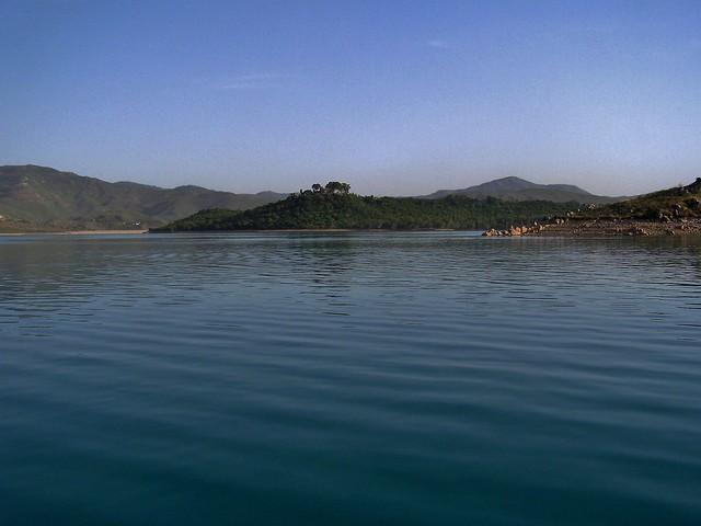 Khanpur Dam in Haripur, Pakistan - May 2008
