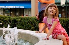 Caitlin and the Fountain