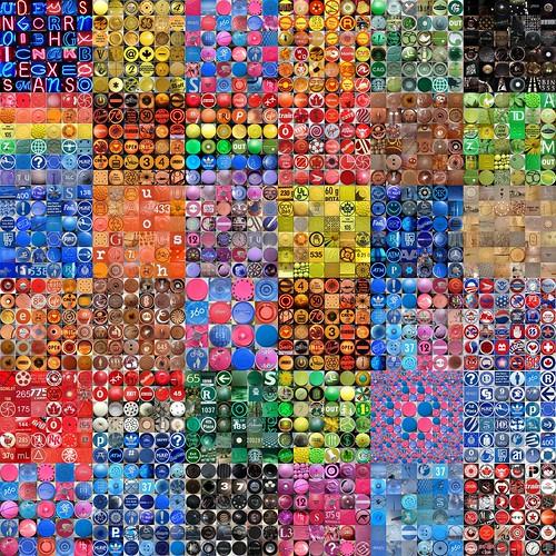 Colour mosaics