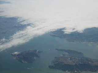 Fog of Golden Gate Bridge