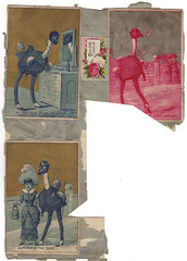 From the scrapbook of Jessie and Sarah Vawter. Circa 1889-1897.