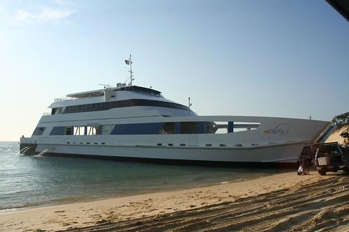 The micat ferry to Morton