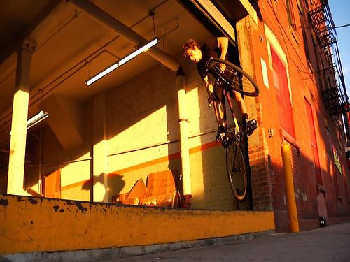 Tom 180 off loading dock