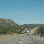 Views from Interstate 25 in northern New Mexico