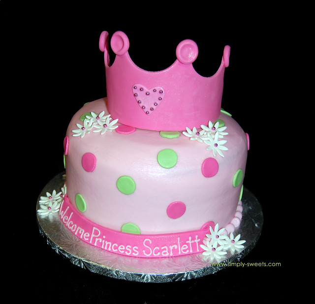 princess baby shower cake read more about our creations on