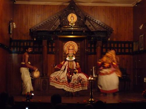 kathakali dancers, kochi, kerala