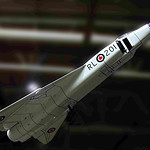 Avro Arrow Model / Canadian Warplane Heritage Museum / Mount Hope, Ontario / November, 2008
