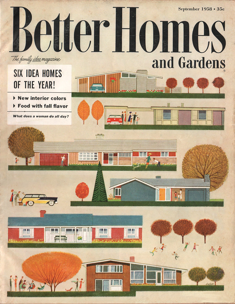 The ward o matic better homes garden sept 1958 Better homes and gardens gardener