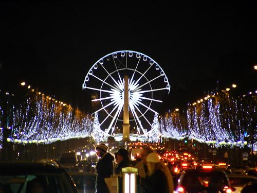 Christmas, Champs-Élysées