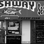 Fishway Seafoods - Floating Fish Takeaway, Constitution Dock, Hobart.