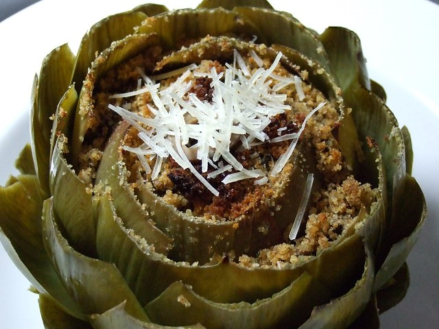 Italian Baked Stuffed Artichoke | Flickr - Photo Sharing!