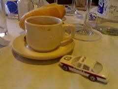 Coche y café