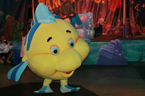 Flounder can dance!