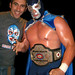 Clive and Blue Demon