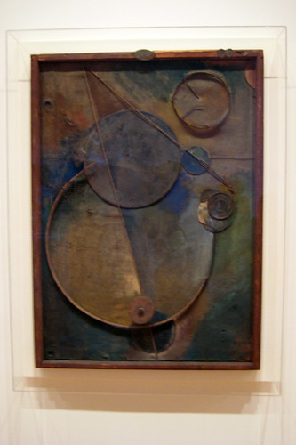 NYC - MoMA: Kurt Schwitters' Revolving by wallyg