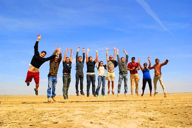 Le jump des People of Marseille / Gens du Sud!