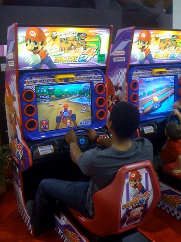 Wii U Arcade Machine : Mario kart arcade gp dx by nintendo namco wii u games
