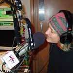 Jill Sobule on the air at WFUV