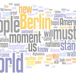 Wordle: Barack Obama Berlin Speech: