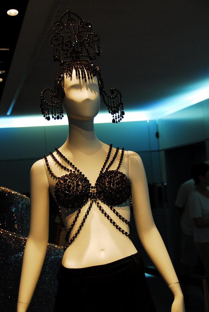 swarovski crystal bra