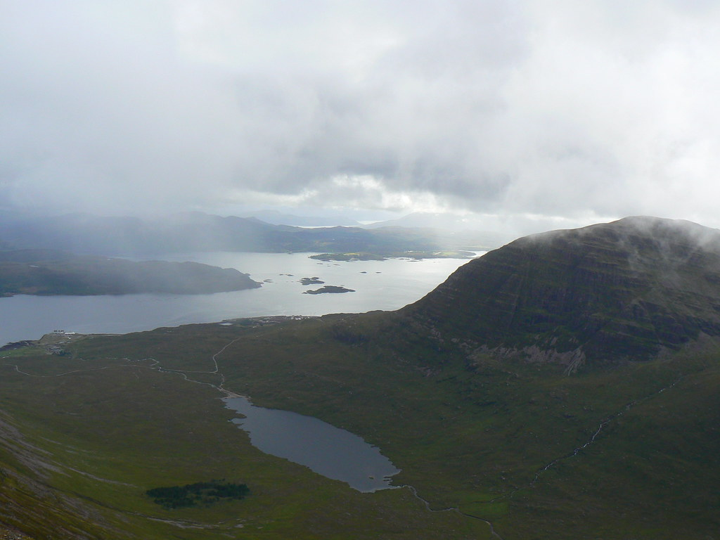 Coire nan Arr and Loch Kishorn